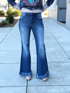 The Fray Denim Flares