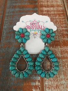 Shawnee Turquoise Earrings