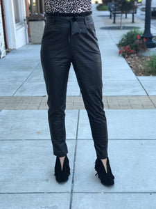 Harley Faux Leather Trousers
