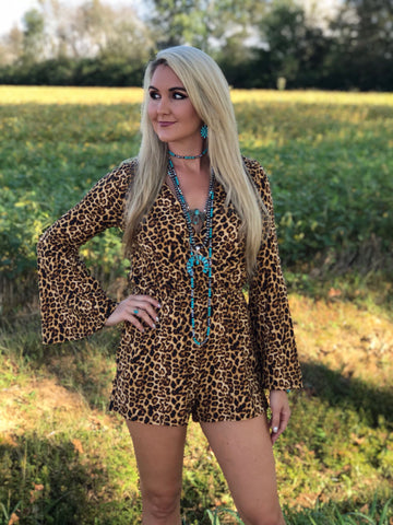 Jungle Leopard Romper