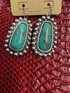 Death Valley Turquoise Earrings