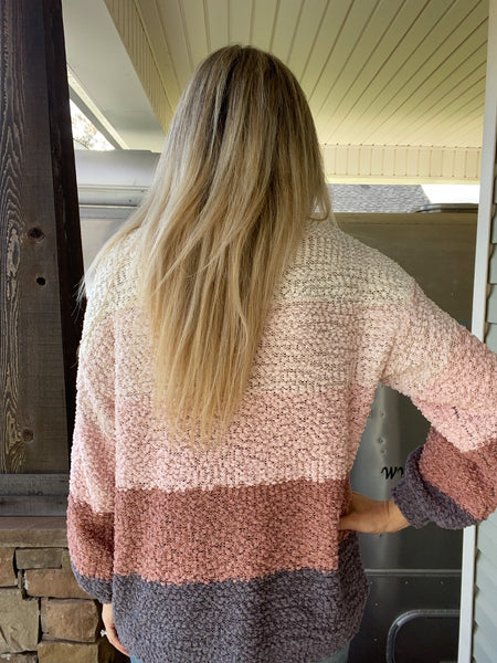 Blushing Bell Sweater