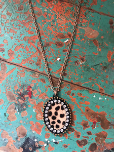 Catwalk Leopard Necklace