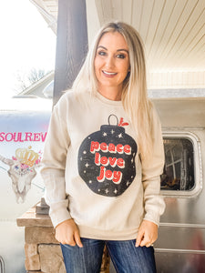 Peace Love & Joy Sweatshirt