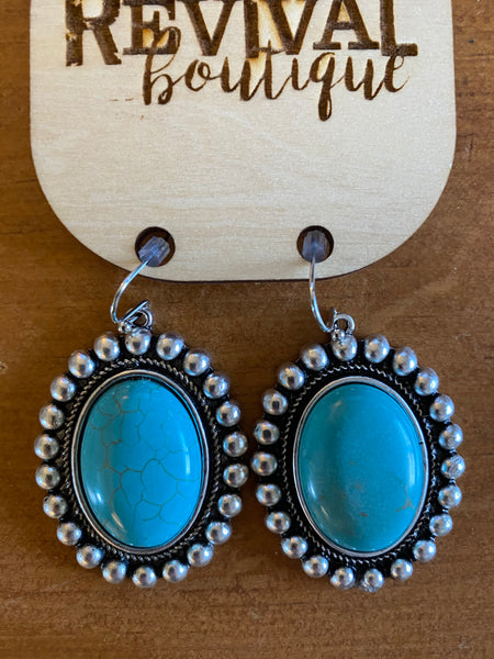 Oregon Turquoise Earrings