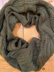Infinity Scarf in Olive