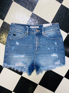 OBX Denim Cutoff Shorts