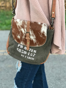 Cargo 157 Hair on Hide Crossbody Bag