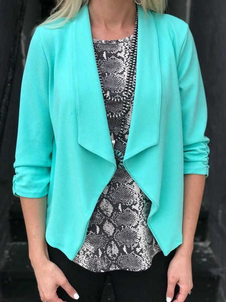 Entrepreneur Blazer in Mint