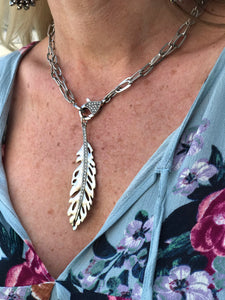 Freebird Feather Necklace