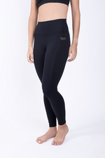 Load image into Gallery viewer, Black High Waisted Legging