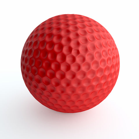 RED Golf Ball Sponsor - Company logo on RED trophy golf ball and special recognition at the event.
