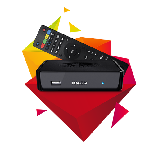 MAG254 W1 / MAG254 W2 IPTV/OTT Set-Top-Box With Built-in Wi-Fi - SmartBoxDirect.com  - 1