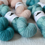 Toil & Trouble Hand Dyed Yarn - Allegory Merino Singles