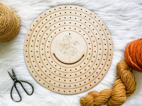 Circle Weaving Loom Set