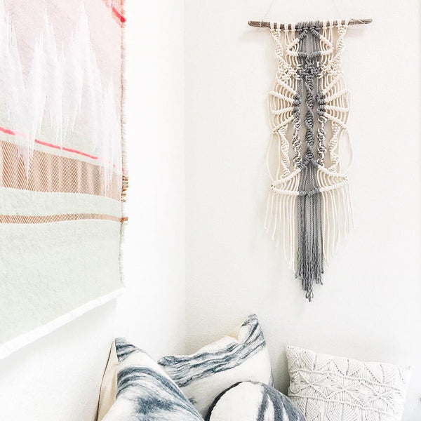 Cotton Rope for Macrame - Light Gray