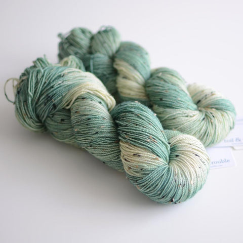Toil & Trouble Hand Dyed Yarn - Imprint Tweed