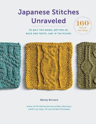 Japanese Stitches Unravelled by Wendy Bernard