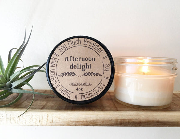 Soy Much Brighter Handmade Soy Candles - 4oz