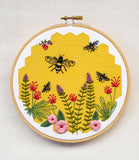 Bee Lovely - Cozyblue Handmade Embroidery Kit
