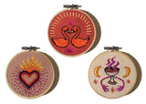 """Beloved"" Embroidered Talisman Kit by Christi Johnson"