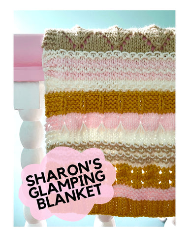 Sharon's Glamping Blanket Kit - and exclusive Salem kit!