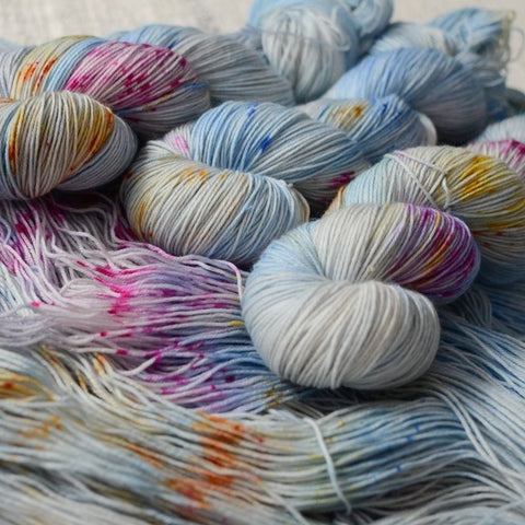"Limited Edition - ""Shimmers in the Snow"" Solstice Yarn Special Batch"