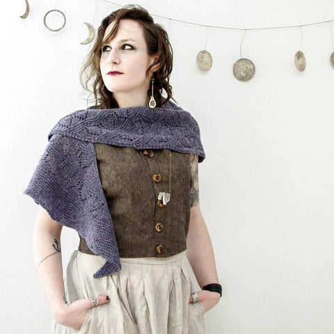 Hemlock Shawl Knitting Kit