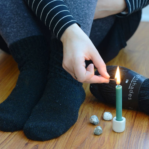 Meristem Socks Knitting and Spell Kit