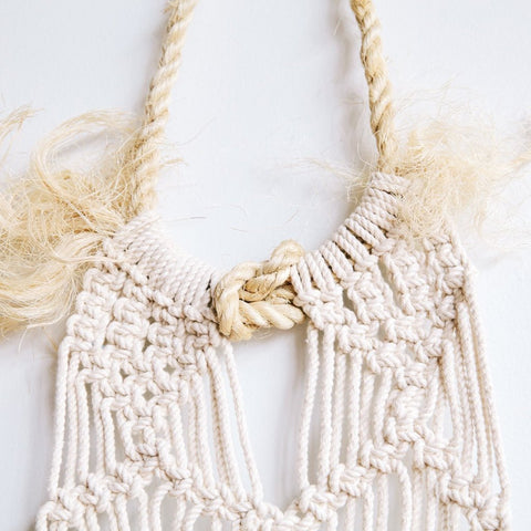 Cotton Rope for Macrame - Natural