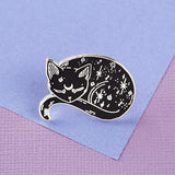 Mystical Cat Enamel Pin