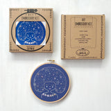 Galaxy Girl - Cozyblue Handmade Embroidery Kit