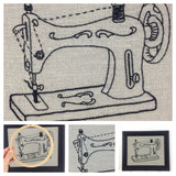 Sewing Machine Embroidery Kit by I Heart Stitch Art