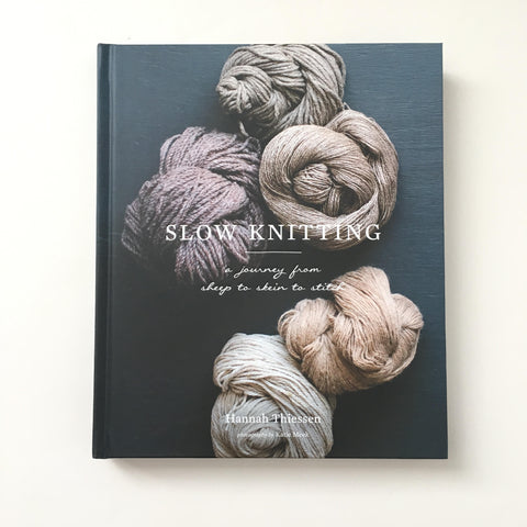 Slow Knitting by Hannah Thiessen