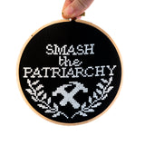 Smash the Patriarchy Cross Stitch Kit
