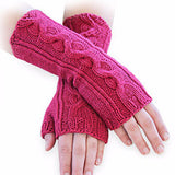 Kit - Venus Mitts in Spud & Chloe Sweater