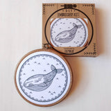Whale of a Time - Cozyblue Handmade Embroidery Kit