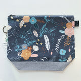 Woodsy & Wild Zipper Project Bags (Assorted Prints)