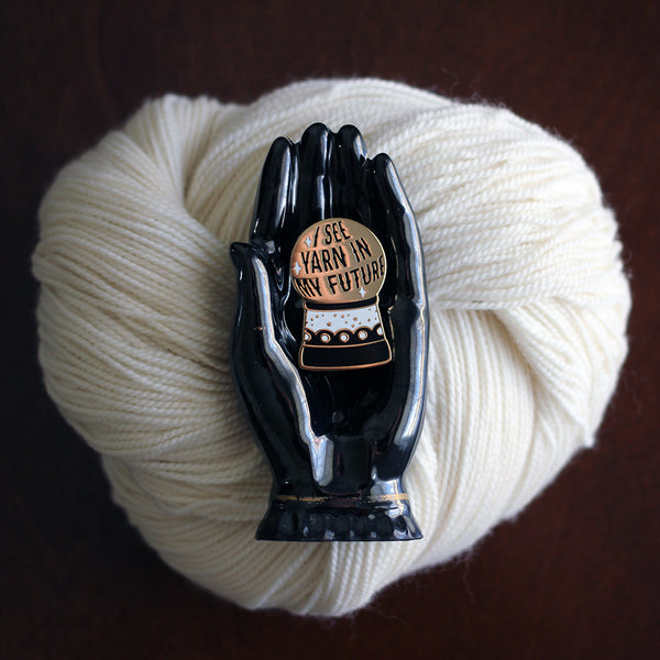 Yarn Fortune Enamel Pin