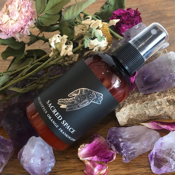 4oz Sacred Space body and room mist