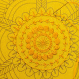 Golden Mandala - Cozyblue Handmade Embroidery Kit