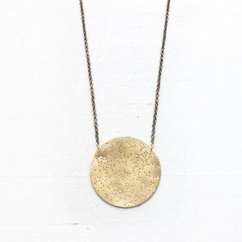 Northern Hemisphere Constellation Necklace