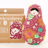 Matryoshka Embroidery Doll Kit by Kiriki Press