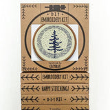 Moonlight Pine - Cozyblue Handmade Embroidery Kit