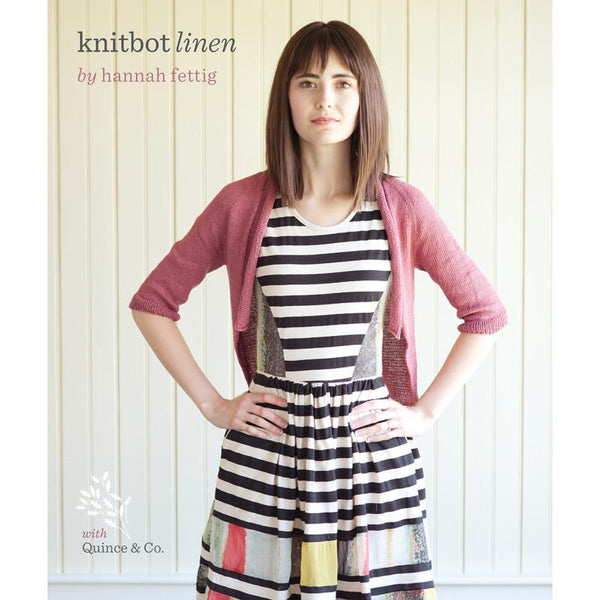 Knitbot Linen by Hannah Fettig - Book