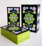 Marble Moon Tarot Deck and Book Set