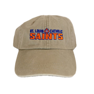 Saints Baseball Cap - Tan