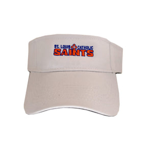 Saints Visor - White