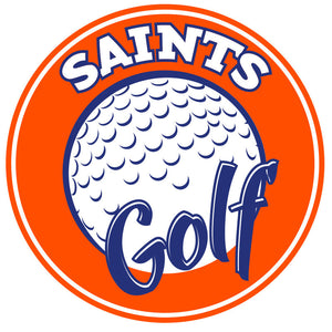 Saints Golf Car Decal
