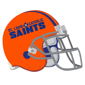 Saints Football Car Decal